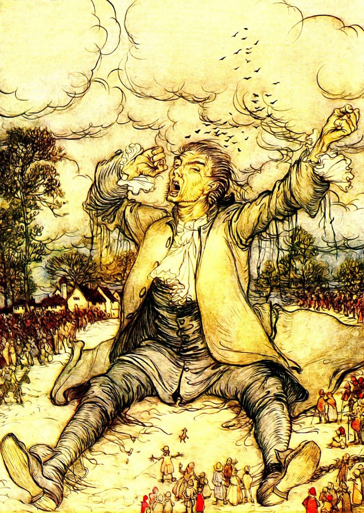 Jonathan Swift, author of Gulliver's Travels made use of Crowdfunding in early 1800s to fund the poor