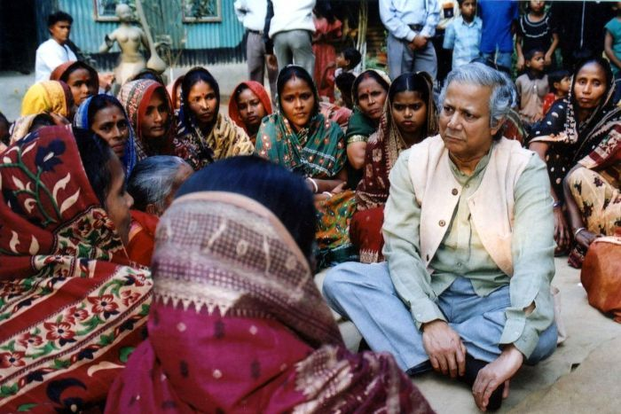History of Crowdfunding - Muhammad Yunus of Grameen Bank | Courtesy of ABC
